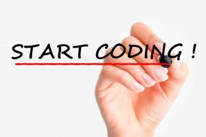 Start coding